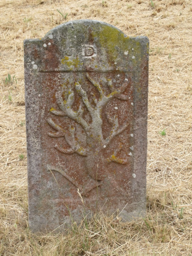 Gravestone, original graveyard, Ross
